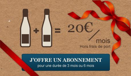 Offrir abonnement vin bio