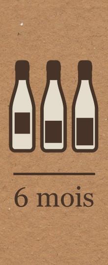 Abonnement vin - 6 mois