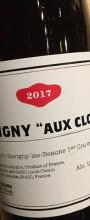 "Savigny 1er cru ""Aux Clous"""