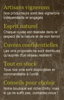 Vente de vins d'artisans vignerons